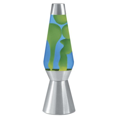 Lava Lite Large Lava Lamp, Blue and Green