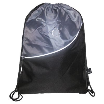 Tesco Activequipment Gym Bag, Black & Grey