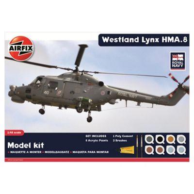 Airfix A50112 Royal Navy Westland Lynx 1:48 Scale Aircraft Gift Set