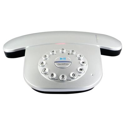 Magicbox Capricorn Single Silver Designer DECT Telephone