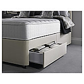 Silentnight Foxton Divan Bed, 1000 Pocket Memory Foam