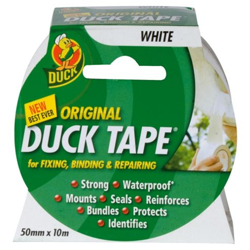 Duck Tape Original 50mm x 10M White