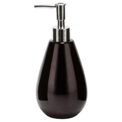 F+F Home Black Metallic Soap Dispenser