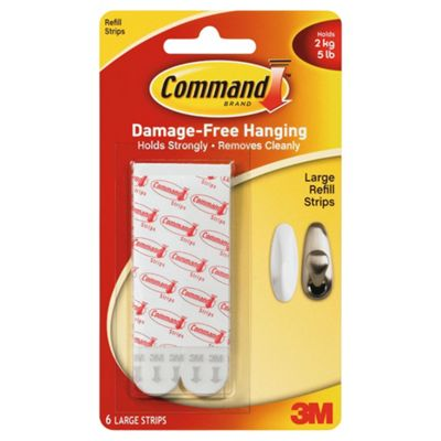Command Refill Strips, Large