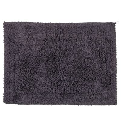 Tesco Bath Mat Grey
