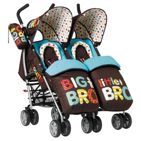Cosatto Twin Pushchair - Big Bro Little Bro