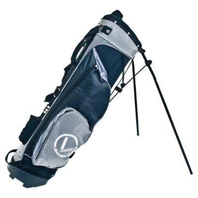 Longridge 7.5 Stand Bag (Black/Silver)