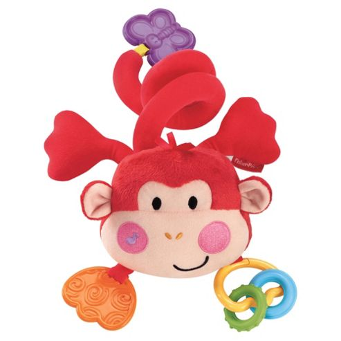 Fisher-Price Wrap Around Musical Plush Monkey