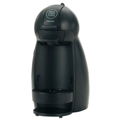 Nescafe Dolce Gusto Piccolo Black Multi Beverage Coffee Machine by Krups