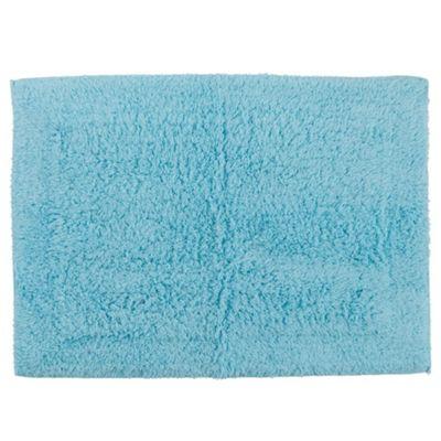 Tesco Bath Mat Aqua