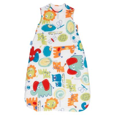 Grobag Baby Sleeping Bag, Doddle Zoo 18-36 Months, 1 Tog