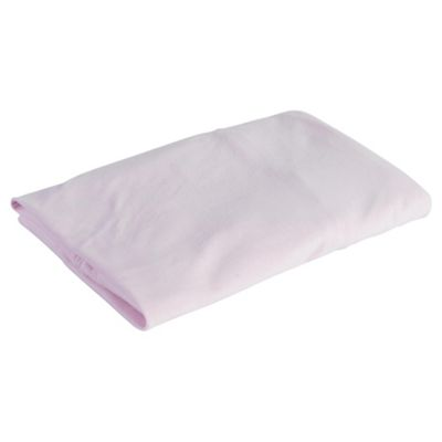 Tesco Loves Baby Fitted Jersey Sheet Cot, Pink