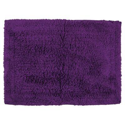 Tesco Bath Mat Purple