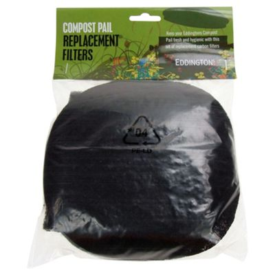 Eddingtons Replacement Carbon Filters For Compost Pail