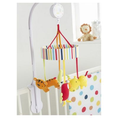 Red Kite Safari Musical Baby Cot Mobile