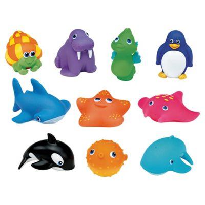 Munchkin 10 Squirtin Sea Buddies Bath Toy