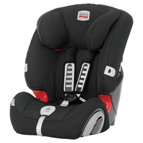 Britax Evolva, Group 1-2-3 Car Seat, Max Black
