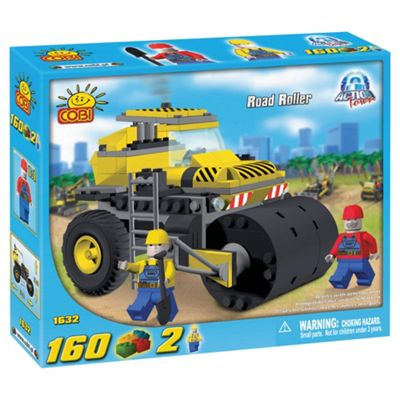 Cobi Action Town 160 Piece Road Roller