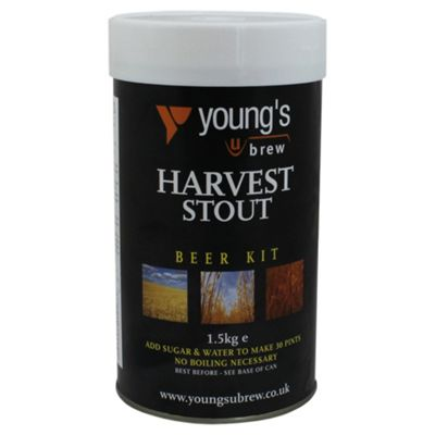 Youngs Harvest Stout Beer Kit, 30 pints