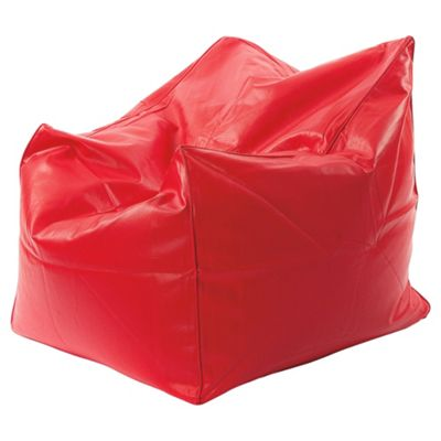 Kaikoo Faux Leather Chillout Chair, Red