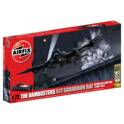 Airfix A50061 Dambusters Gift Set 1:72 Scale Aircraft Diorama Gift Set