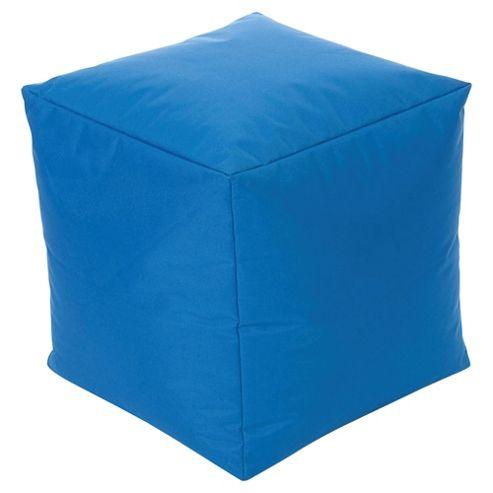 Kaikoo Indoor/Outdoor Bean Bag Cube, Navy