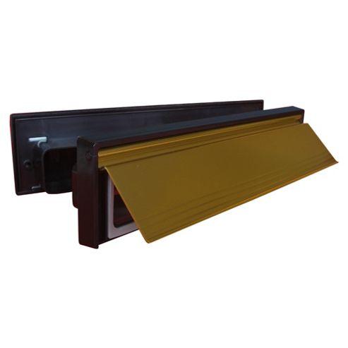 Internal & External Complete Sleeved Letter Box Gold