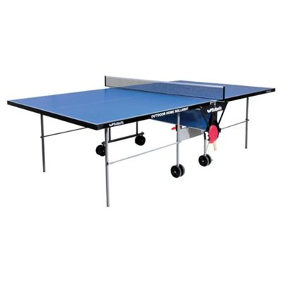 Butterfly Outdoor Home Rollaway Table Tennis Table - Blue