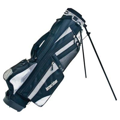 Longridge 6 Weekend Stand Bag (Black/Silver)