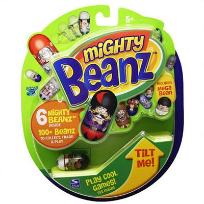 Mighty Beanz 6Pack With Coolest Graphics