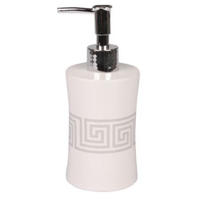 F+F Home Celtic Squares Soap Dispenser
