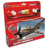 Airfix A55101 Curtiss P-40B Tomahawk 1:72 Scale Aircraft Gift Set