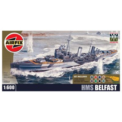 Airfix A50069 Imperial War Museum HMS Belfast Warship Gift Set