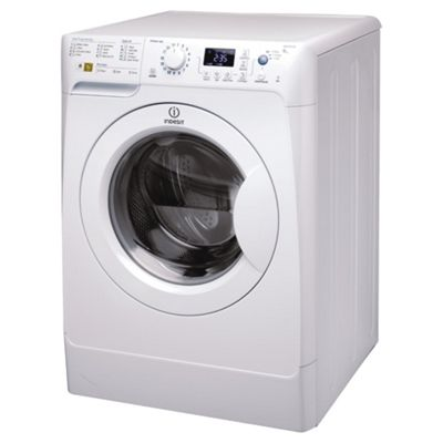 Indesit PWE91472W Washing Machine, 9kg Wash Load, 1400 RPM Spin, A++ Energy Rating. White