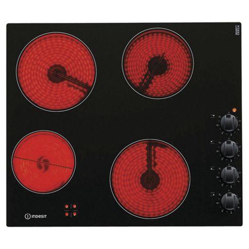 Indesit Ceramic Hob, VRM 640 M C, 59cm - Black