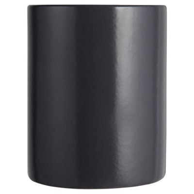 Tesco Pure Ceramic Utensils Canister, Charcoal