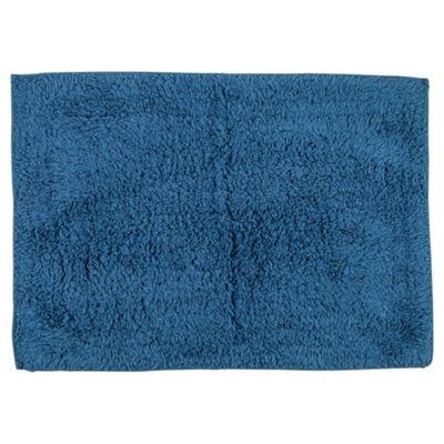 Tesco Bath Mat Denim