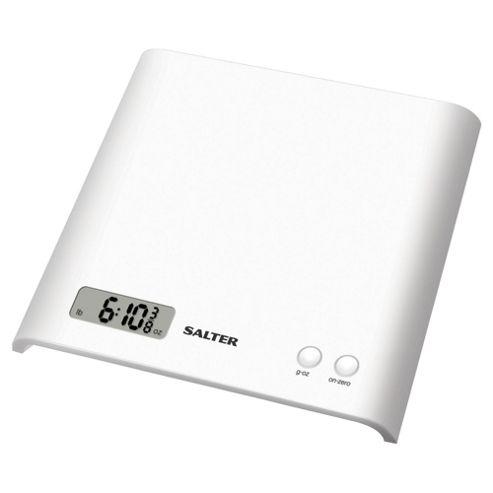 Salter 1066 Electronic Kitchen Scale, White