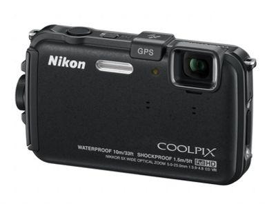 Nikon Coolpix AW100 Digital Camera - Black.