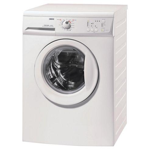 Zanussi Zwg6141p Washing Machine, 6kg Wash Load, 1400 RPM Spin, A Energy Rating. White