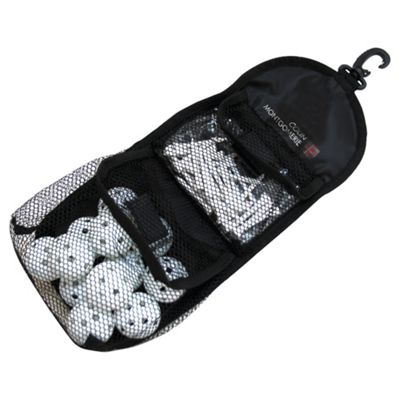 Colin Montgomerie Accessory Bag with Practice Balls and Tees