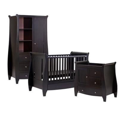 Tutti Bambini Lucas 3 Piece Nursery Room Set, Espresso