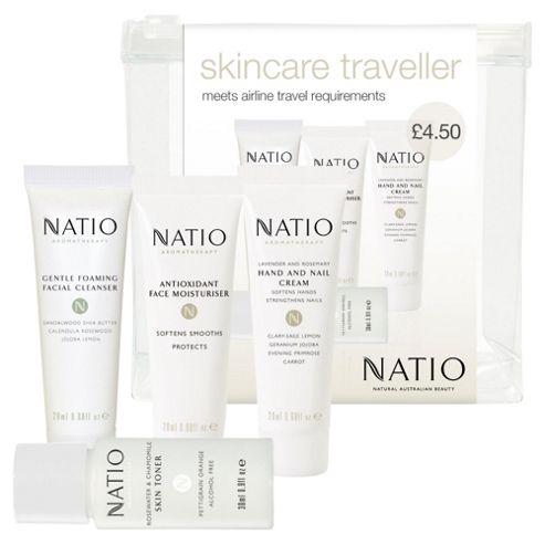 Natio Skincare Traveller Set