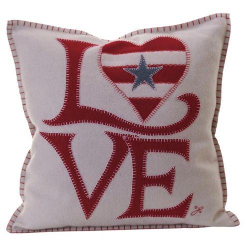 Jan Constantine Usa Fab Love Cushion