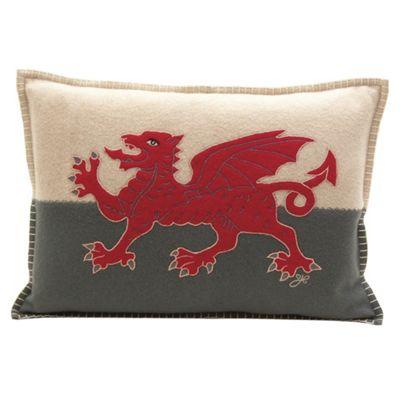 Jan Constantine Welsh Dragon Cushion