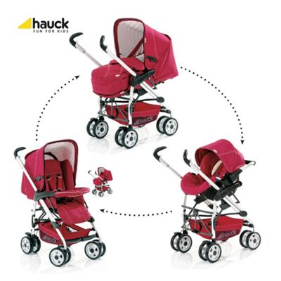 Hauck Eagle Trioset Travel System, Plum