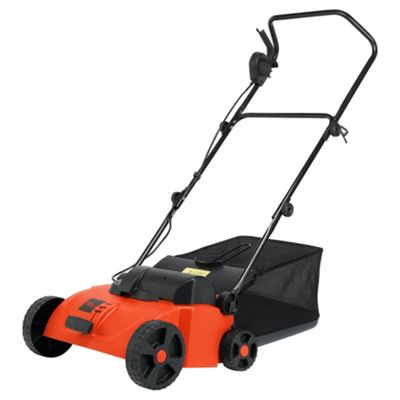 ikra RED 1500W Electric Lawn Raker & Scarifier
