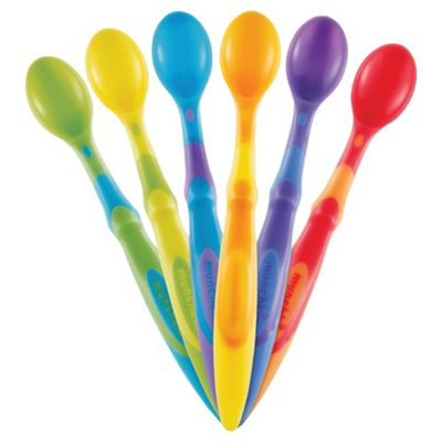 Munchkin Soft Tip Infant Spoon six packs