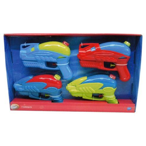 Tesco Waterguns 4 Pack