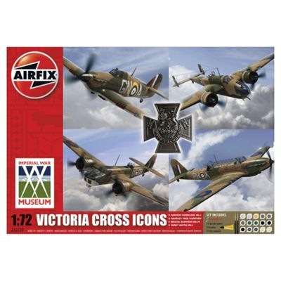 Airfix A50129 Victoria Cross Collection 1:72 Scale Military Aircraft Model Kit